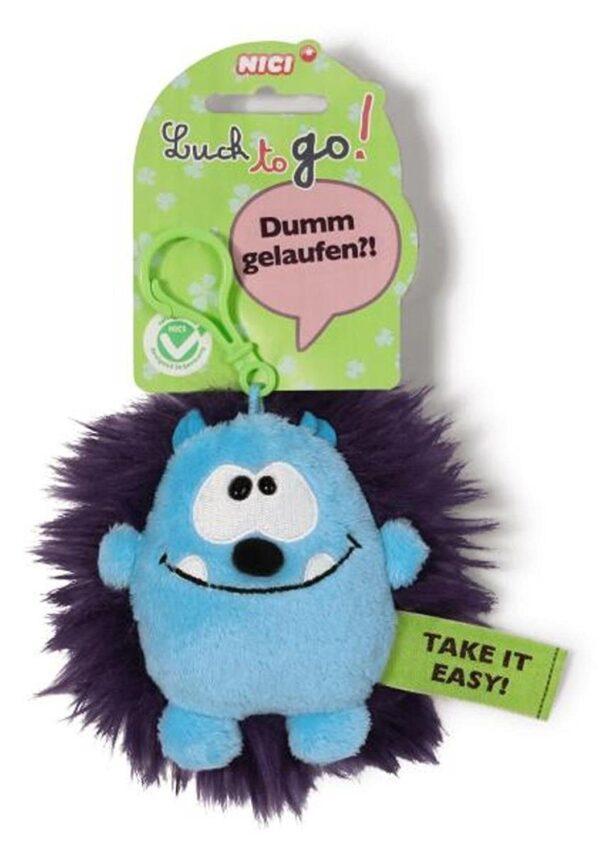Ключодържател Таласъм синьо/лилав 10 см. - Детски играчки - Плюшени играчки - За детето - Детски аксесоари