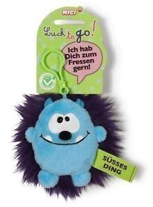 Ключодържател Таласъм синьо/лилаво 10 см. - Детски играчки - Плюшени играчки - За детето - Детски аксесоари