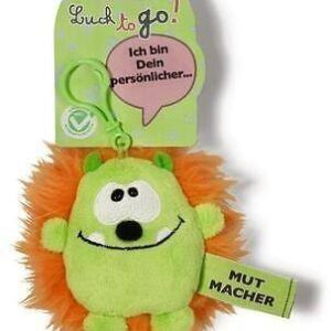 Ключодържател Таласъм зелен/оранжев 10 см. - Детски играчки - Плюшени играчки - За детето - Детски аксесоари
