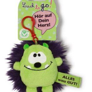 Ключодържател Таласъм зелено/лилаво 10 см. - Детски играчки - Плюшени играчки - За детето - Детски аксесоари