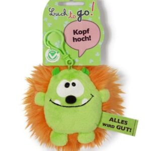 Ключодържател Таласъм зелено/оранжев 10 см. - Детски играчки - Плюшени играчки - За детето - Детски аксесоари