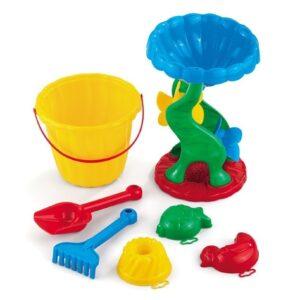 """Кофичка за игра на плажа """"Фала"""" с мелница - Детски играчки - Играчки за пясък"""