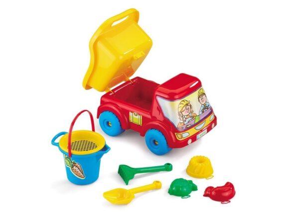 Кола Bartek с комплект за пясък - Детски играчки - Играчки за пясък