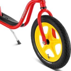 Колело за баланс за деца над 3 години PUKY LR 1L - червено - Играчки за навън - Балансиращи колела