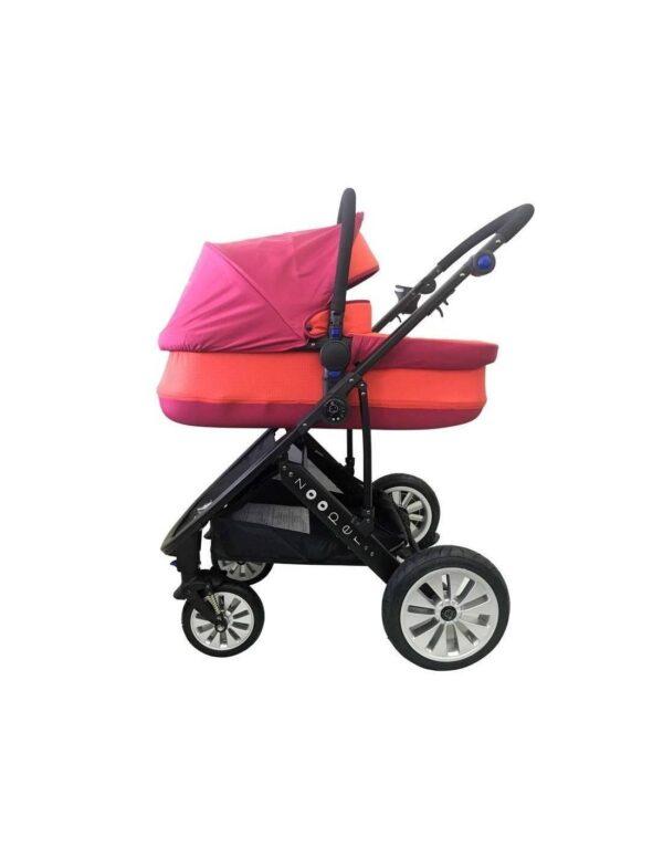Комбиниранa количкa 3 в 1 Zooper Flamenco Flaming Plaid - Бебешки колички - Комбинирани бебешки колички 3 в 1