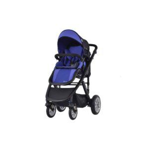 Комбиниранa количкa 3 в 1 Zooper Flamenco Royal Blue Plaid - Бебешки колички - Комбинирани бебешки колички 3 в 1