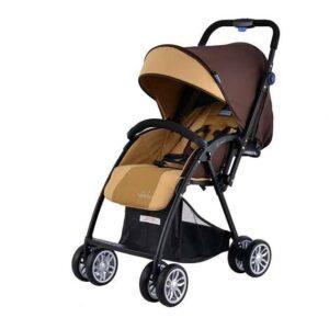 Комбинирана количка Zooper Salsa Khaki Plaid, кафява - Бебешки колички - Комбинирани бебешки колички 2 в 1