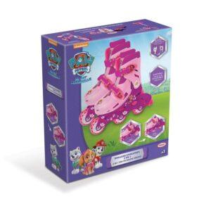 Комбинирани ролери и ролкови кънки за момиче 27-30 номер - Играчки за навън - Ролери и ролкови кънки - PAW Patrol