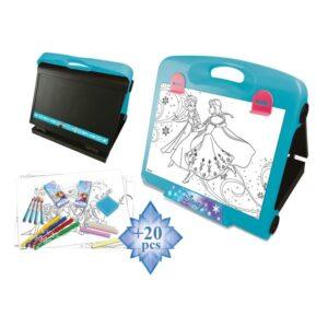 Комплект дъска за рисуване - Замръзналото царство - Детски играчки - Образователни играчки - Frozen