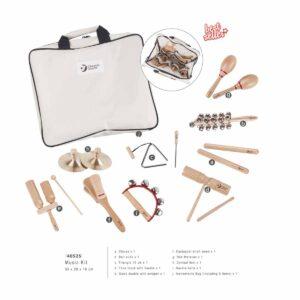 Комплект детски музикални инструменти за обучение - Мебели и играчки за детски градини и центрове - Творческо и музикално обучение за деца
