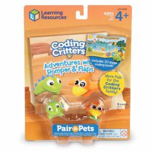 Комплект динозаври за игра - Ромпър и Флапс - Детски играчки - STEM Играчки