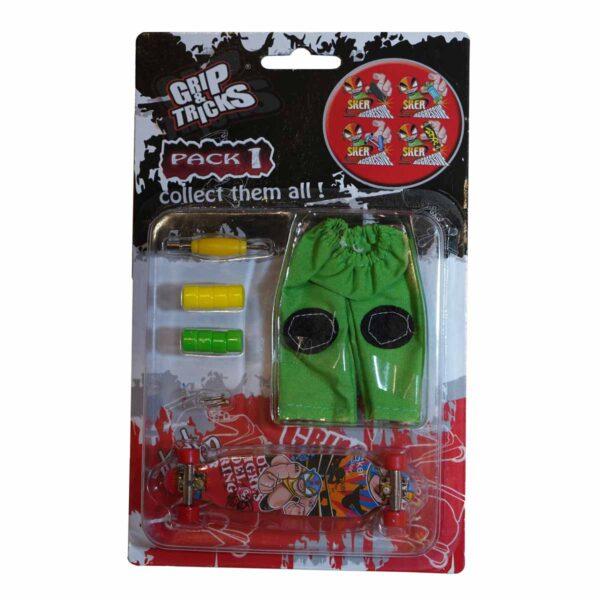 Комплект играчка за пръсти LONG BOARD, с боксьор - Детски играчки - Играчки за пръсти - Фингърбордове