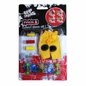 Комплект играчка за пръсти LONG BOARD, син - Детски играчки - Играчки за пръсти - Фингърбордове