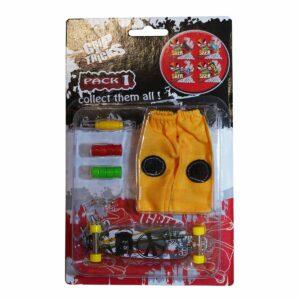 Комплект играчка за пръсти LONG BOARD, сив - Детски играчки - Играчки за пръсти - Фингърбордове
