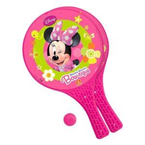 Комплект от 2 ракети и топче за игра навън - Minnie Mouse - Детски играчки - Други занимателни и спортни играчки - Minnie Mouse