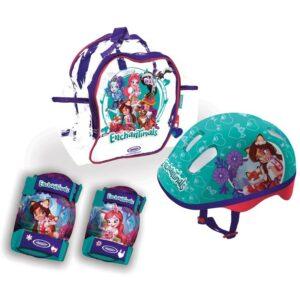 Комплект раница, каска и протектори, ENCHANTIMALS - Играчки за навън - Протектори - каски, налакътници, наколенки - Enchantimals