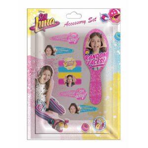 Комплект с аксесоари за коса Soy Luna 9 части - Детски играчки - Детски гримове, комплекти и аксесоари - Soy Luna