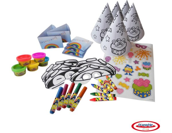 Комплект - украса за рожден ден - Детски играчки - Образователни играчки