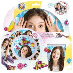 Комплект за хранене Soy Luna 3 части - За детето - Детски прибори за хранене - Soy Luna