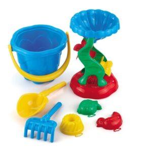 """Комплект за игра на плажа """"Фала"""" с голяма лопата - Детски играчки - Играчки за пясък"""