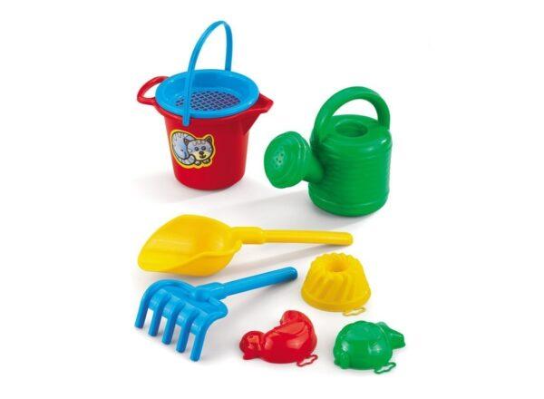 Комплект за игра на пясъка - голям - Детски играчки - Играчки за пясък