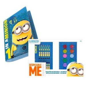 Комплект за рисуване - минионите - Ученически пособия - Комплекти за рисуване - За детето - Minions