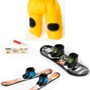 Комплект зимни играчки за пръсти - Детски играчки - Играчки за пръсти - Фингърбордове