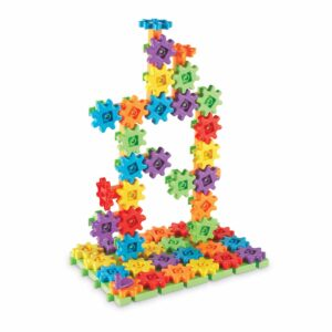 Конструктор със зъбни колела - 100 части - Детски играчки - STEM Играчки