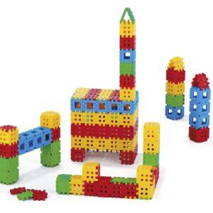 Конструктор вафлени блокчета - 170 части - Детски играчки - Конструктори