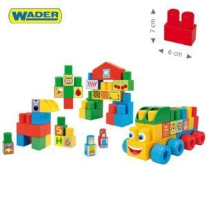 Конструктор за бебета с големи части - Детски играчки - Конструктори