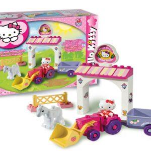 Конструктор за деца - мини ферма, Hello Kitty, Unico - Детски играчки - Конструктори - Hello Kitty