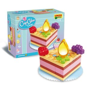 Конструктор за деца - парче от торта, Unico - Детски играчки - Конструктори