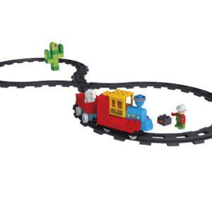 Конструктор за деца - влакче на батерии Unico - Детски играчки - Конструктори