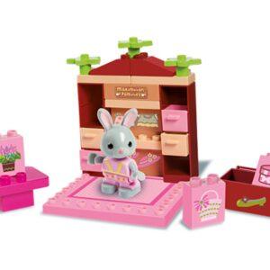 Конструктор за момиче - малък бутик, Unico - Детски играчки - Конструктори