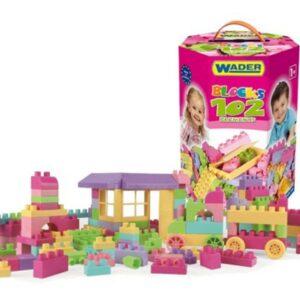 Конструктор за момичета от 102 части - Детски играчки - Конструктори