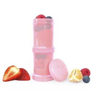 Контейнери за храна и сухо мляко Twistshake - 2 бр. по 100 мл розов - За бебето - Хранене - Аксесоари за хранене