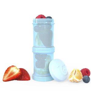 Контейнери за храна и сухо мляко Twistshake - 2 бр. по 100 мл син - За бебето - Хранене - Аксесоари за хранене