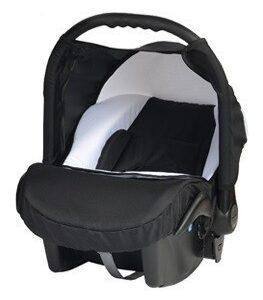 Кошче за бебета за кола Baby Merc Junior Twist черно и бяло - Бебешки колички - Кошчета за кола