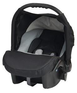 Кошче за бебета за кола Baby Merc Junior Twist черно и сиво - Бебешки колички - Кошчета за кола