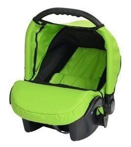 Кошче за бебета за кола Baby Merc Junior Twist зелено и черно - Бебешки колички - Кошчета за кола