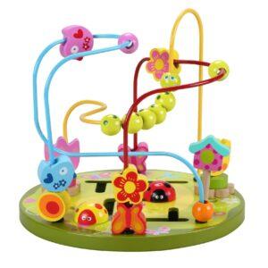 Костер с различни фигурки - Детски играчки - Образователни играчки - Дървени играчки
