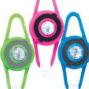 LED фенерче - Розово - Играчки за навън - Аксесоари за велосипеди и тротинетки