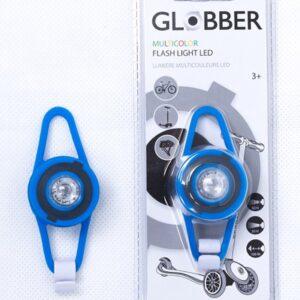 LED фенерче - Синьо - Играчки за навън - Аксесоари за велосипеди и тротинетки