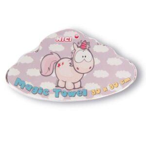 Магическа кърпа Еднорогът Theodor - За бебето - Детски и бебешки аксесоари за баня - Хавлии и кърпи за баня