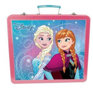 Метално куфарче за рисуване - Замръзналото кралство - Детски играчки - Образователни играчки - Комплекти за рисуване - Frozen