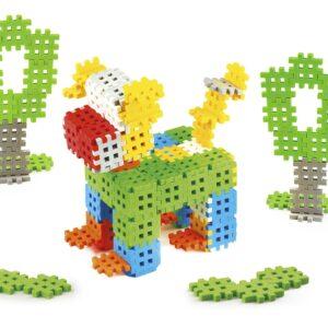 Мини вафлен конструктор - 140 части - Детски играчки - Конструктори