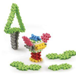 Мини вафлен конструктор - 35 части - Детски играчки - Конструктори