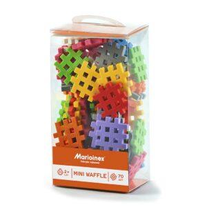 Мини вафлен конструктор - 70 части - Детски играчки - Конструктори