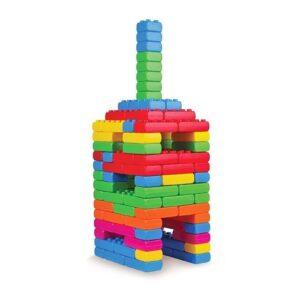 Многоцветен строител от 110 части - Детски играчки - Конструктори