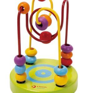 Многоцветни мини костери - Детски играчки - Образователни играчки - Дървени играчки